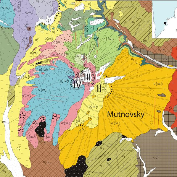 Mutnovsky Geologic Map 11 x 17