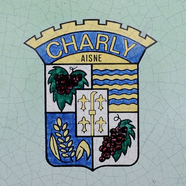 CHARLY-SUR-MARNE ( Aisne ). Table d'orientation......