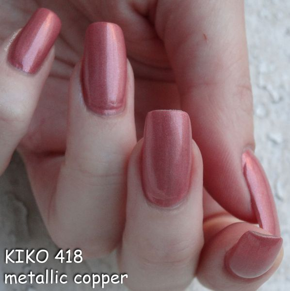 KIKO 418 metallic copper 04