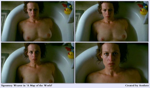Sigourney Weaver dans Map of the World