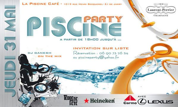 Invitation piscine party party invitations ideas for Club piscine flyer