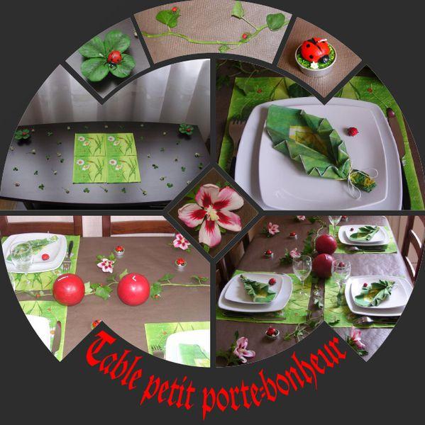 TABLE PETIT PORTE BONHEUR