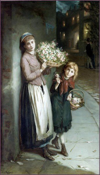 Mulready---Flower-Girls---A-Summer-s-Night-1885.jpg