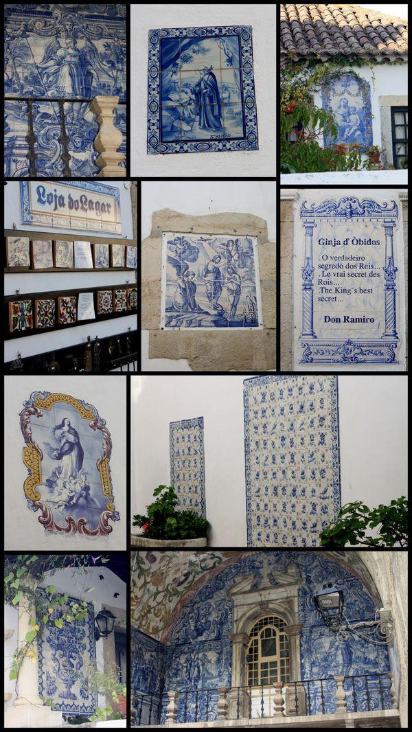 Azulejos Obidos Portugal