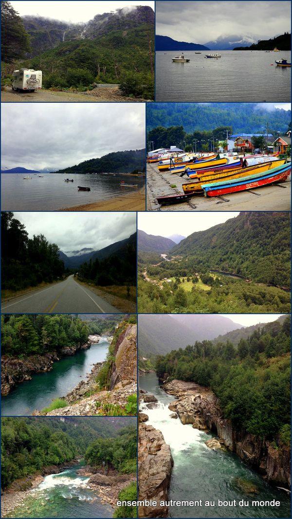 4 puerto Cisnes + route