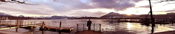 LAKE LUZERN SWITZERLAND by K4RLZJR