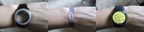les montres absurdes