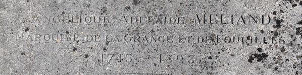 GRISY-SUISNES (Seine & Marne ) Angelique Adelaide MELIAND 1