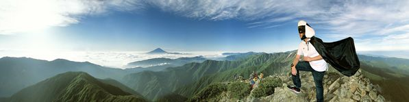 Hello Japan - Onigiri-man Mt Fuji RAW