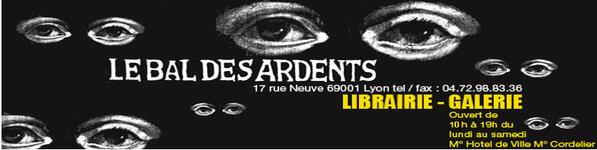 Librairie bal des ardents