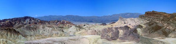 Vallée de la Mort panorama