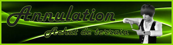 Annulation achat maison top design sims3 for Annulation achat maison