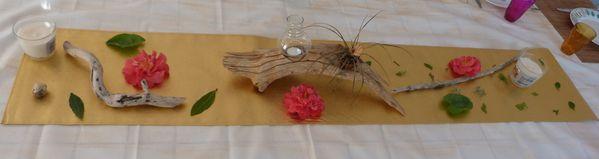 Mortier colle pour une chinoise les mosa ques des minoutes for Centre de table de noel en bois flotte