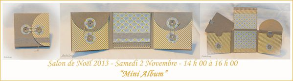 Mini Album Jaune RED