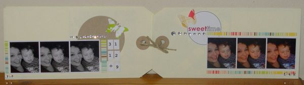 mini sweet time double page couverture
