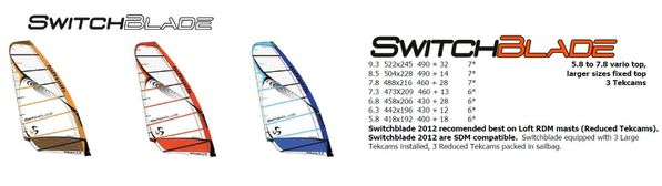 Loft Sails Switch Blade 2012