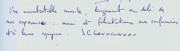Général Farine - Conférence Eric Poisson------