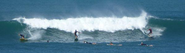 Une vague Guéthary
