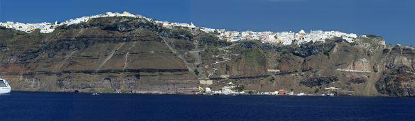 Santorini - panorama