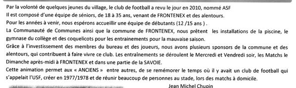 ARTICLE LE OPTIT FRONTENEXOIS JUIN 2013