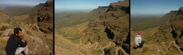 collage view sani pass top