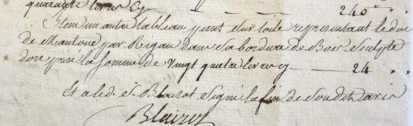 26 inventaire DC Bury 24 nov 1785