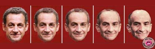 photo sarkozy morphing