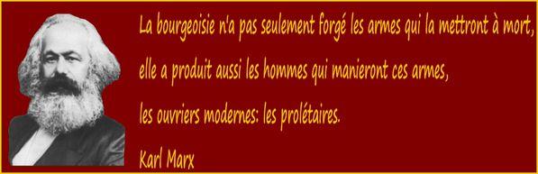 Karl Marx bannière