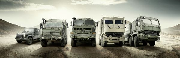 Military Vehicles mercedes ahsvs