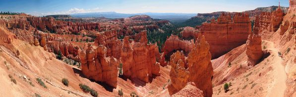 Bryce Canyon Sunset Point pano b