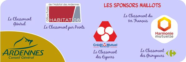 CA 2013 SPONSORS MAILLOTS