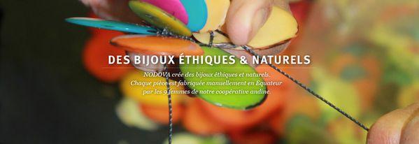 Bijoux équitables Nodova