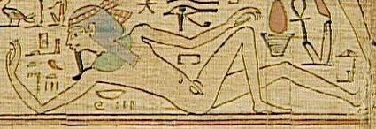 GEB Papyrus mythologique de Neskapashouty COPIE