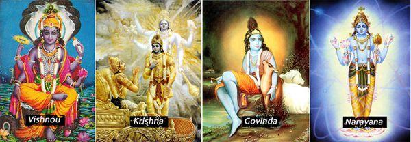 vishnou Krishna govinda narayana