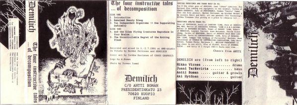 Demilich - Cover