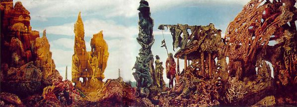 Max Ernst Europe after the rain 1940 1942