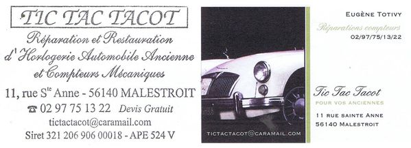 Tic Tac Tacot - 30 juillet 2012