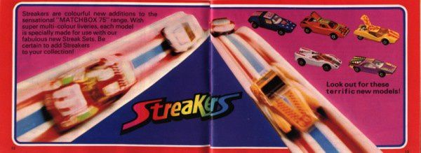catalogue matchbox 1975 p12 streakers