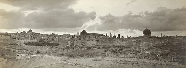 Jerusalem panorama early twentieth century