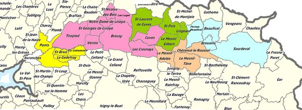 NATURA plan communes 5 cantons valdeSee