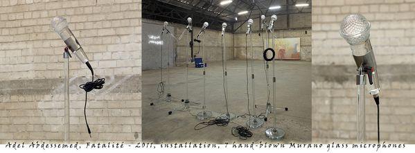 Adel Abdessemed - Fatalité - 2011 - installation - 7 hand