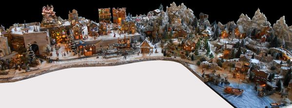 Village de no l 2013 les villages miniatures de no l de lalie - Village de noel miniature ...