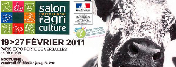 Vir e en poussettes au salon de l 39 agriculture 2011 on for Billet salon de l agriculture