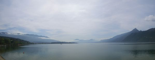 beau temps lac du Bourget