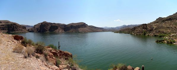 Apache Trail Canyon Lake pano 1 b