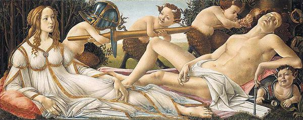 Botticelli Venus and Mars