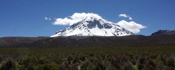 sajama volcan