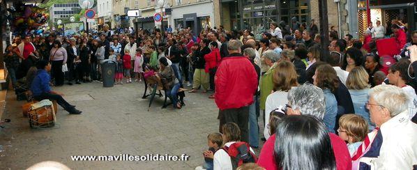 La Roche-sur-Yon Fête de la musique 2011 ma ville solidair