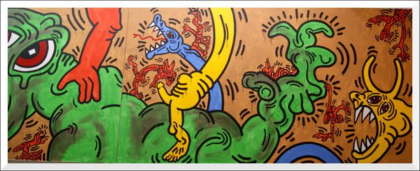 Keith Haring CENTQUATRE Blog (113)