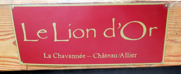 plaque-devise le lion d'or